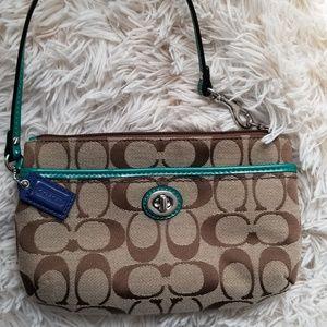 Handbags - Coach wristlet. Excellent condition.